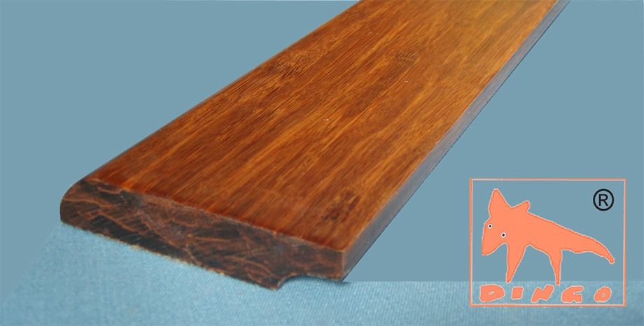 Bamboo High Density - in both Colours `Honey` and `Marron` - 1830*68*15 mm - finished - picture: Marron
