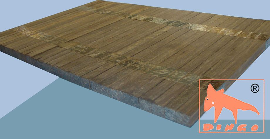 Bamboo Industrial Floor - 300*200*10 mm - Perfect for Underfloor Heating