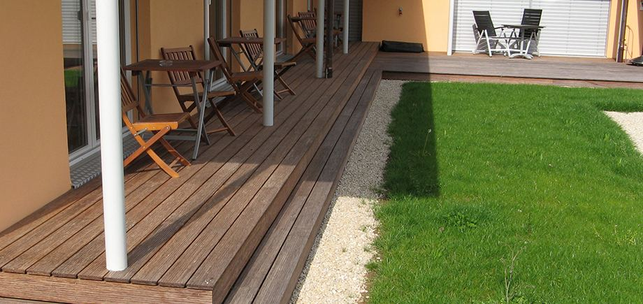 10. Bamboo Decking Pictures